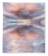 Serenity And Peace Fleece Blanket