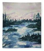 Serenity IIi Fleece Blanket