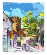 Serpa  Portugal 01 Bis Fleece Blanket