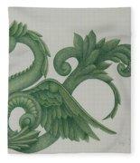 Serpent Fleece Blanket