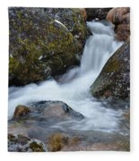 Serra Da Estrela Waterfalls. Portugal Fleece Blanket