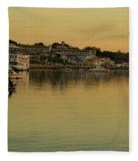 Set A Sail Fleece Blanket