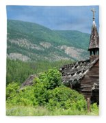 Seton Portage Church 2 Fleece Blanket