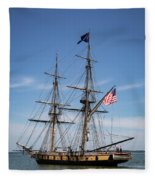 Setting Out To Sail Fleece Blanket