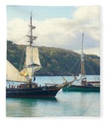 Setting Sail Fleece Blanket