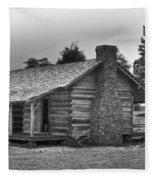 Settlers Cabin Tennessee Fleece Blanket
