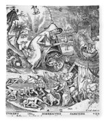 Seven Deadly Sins: Anger Fleece Blanket