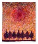 Seven Wishes Fleece Blanket