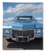 Seventies Superstar - '71 Cadillac Fleece Blanket
