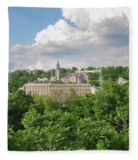 Seville Schofields Mill And St John The Baptist - Manayunk Fleece Blanket