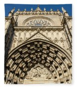 Seville - The Cathedral Fleece Blanket