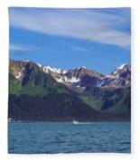 Seward Mountains Fleece Blanket