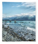 Seward Seashore Fleece Blanket