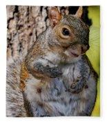 Sexy Squirrel Fleece Blanket