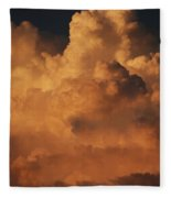 Shades Of Color Fleece Blanket