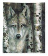 Shades Of Gray Fleece Blanket