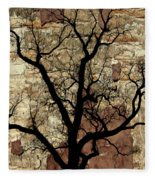 Shadow Wall Fleece Blanket