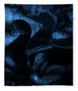 Shadowplay Fleece Blanket