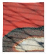 Shadows And Rust Fleece Blanket