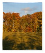 Shadows Bow Fleece Blanket