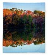 Shadows Of Reflection Fleece Blanket