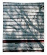 Shadows On Churchdoor Fleece Blanket