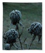 Shadowy Frozen Pods From The Darkside Fleece Blanket