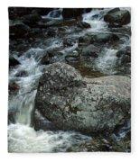 Shady Stream Boulder Fleece Blanket