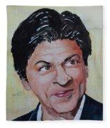 Shah Rukh Khan Fleece Blanket