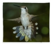 Shake Your Tail Feathers Fleece Blanket