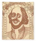 Shakespeare Fleece Blanket