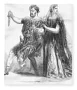 Shakespeare: Macbeth, 1845 Fleece Blanket