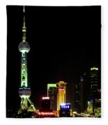 Shanghai Fleece Blanket