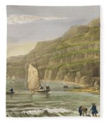 Shanklin Bay Fleece Blanket