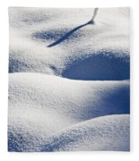 Shapes Of Winter Fleece Blanket