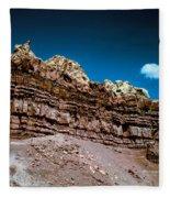 Shaping Rock Fleece Blanket