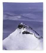 Shark Fin Peak Fleece Blanket