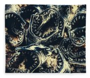 Shark Jaws Fleece Blanket
