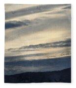 Shasta Trinity National Forest Sunrise Fleece Blanket