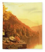 Shawanagunk Mountains Fleece Blanket