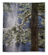 Shedding Snow Fleece Blanket