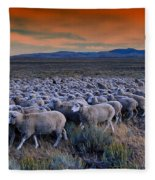 Sheepherder Life Fleece Blanket