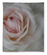 Sheer Bliss Rose Fleece Blanket
