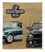 Shelby 40th Anniversary Fleece Blanket