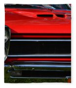 Red Gto Fleece Blanket