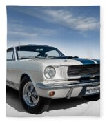 Shelby Mustang Gt350 Fleece Blanket