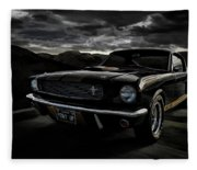 Shelby Gt350h Rent-a-racer Fleece Blanket