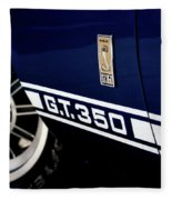 Shelby Mustang G T 350 Cobra Fleece Blanket