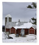 Sheldon Barn Fleece Blanket