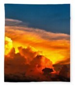 Shelf Cloud 01 Fleece Blanket
